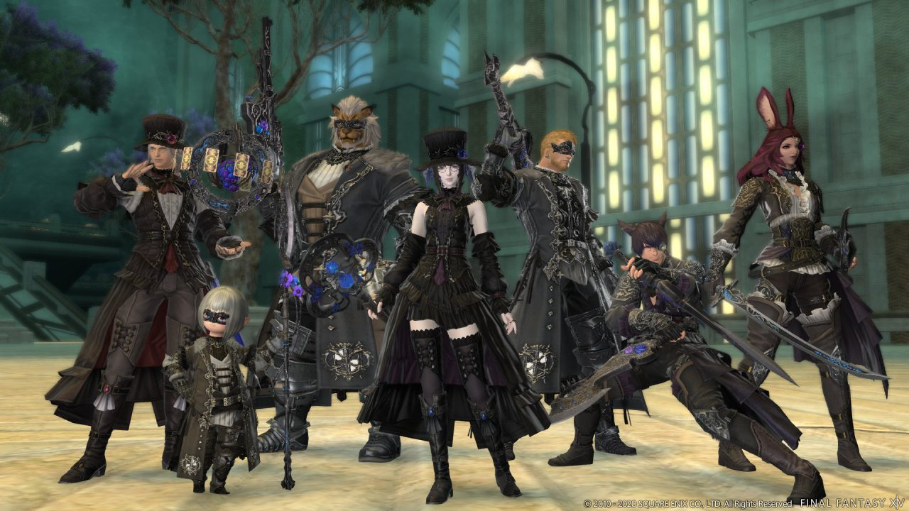 Eden's Promise Gear From Final Fantasy XIV Patch 5.4
