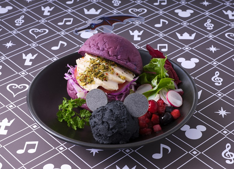 Burger From The Kingdom Hearts Cafe