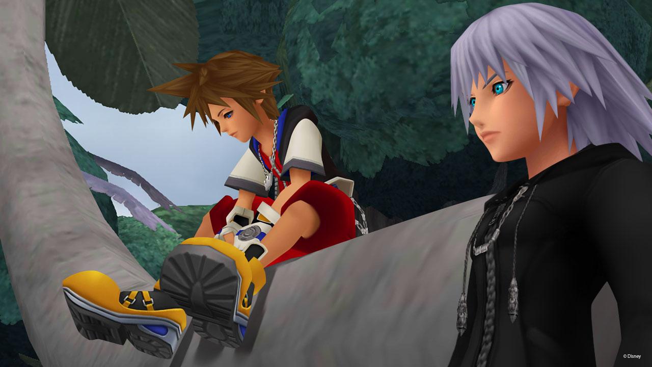 Sora and Riku in Kingdom Hearts.