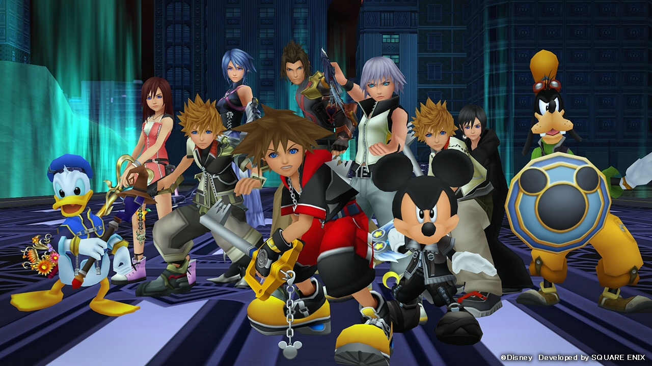 Screenshot From Kingdom Hearts Dream Drop Distance Because This Is The Closest Thing To A Cast Photo I Could Find