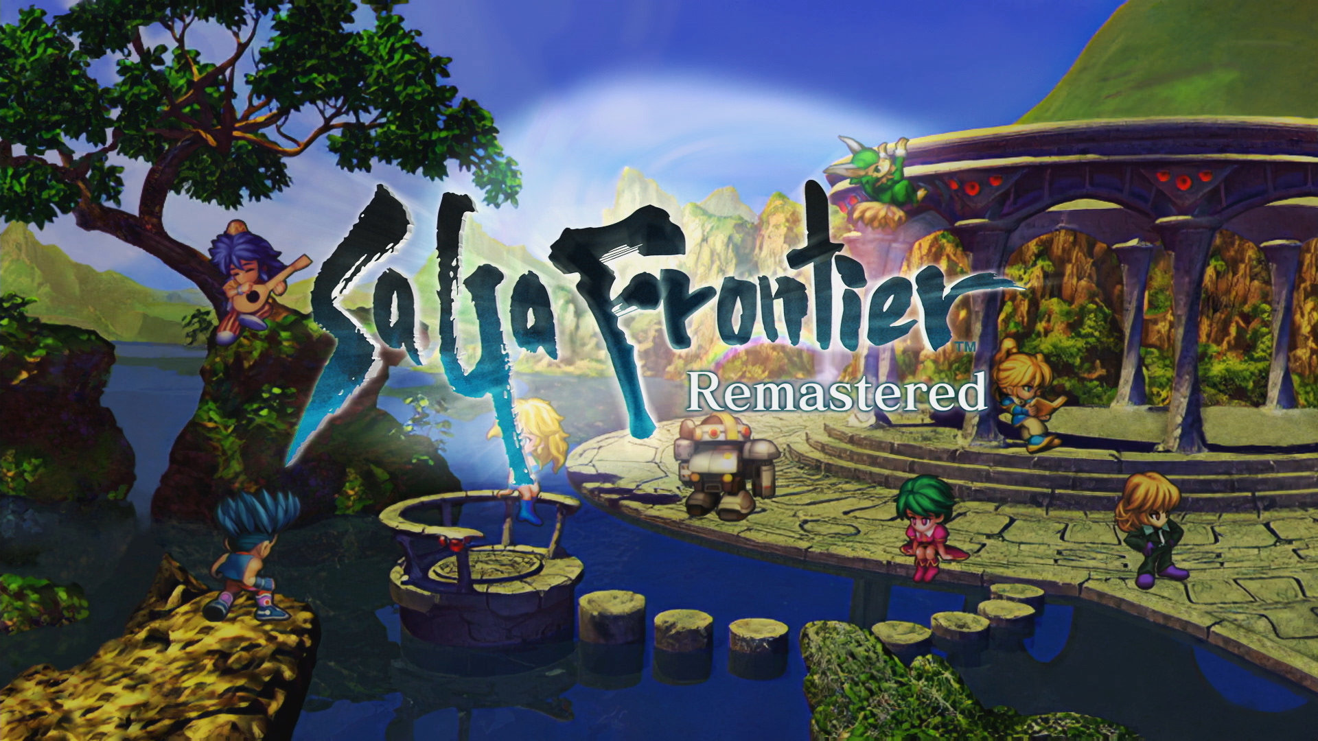 Title Screen From SaGa Frontier Remastered