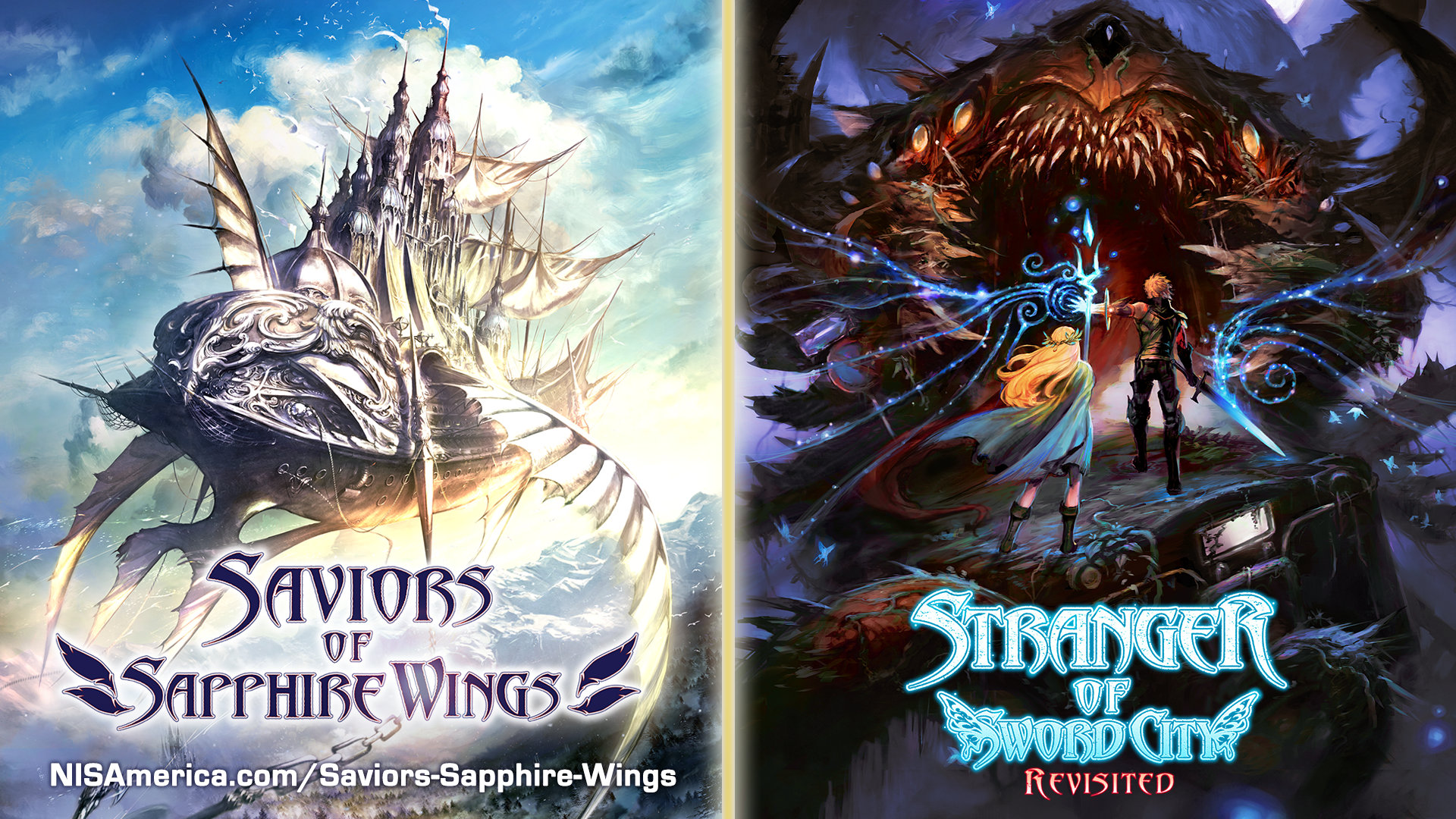 Saviors of Sapphire Wings Stranger of Sword City Revisited Artwork 01