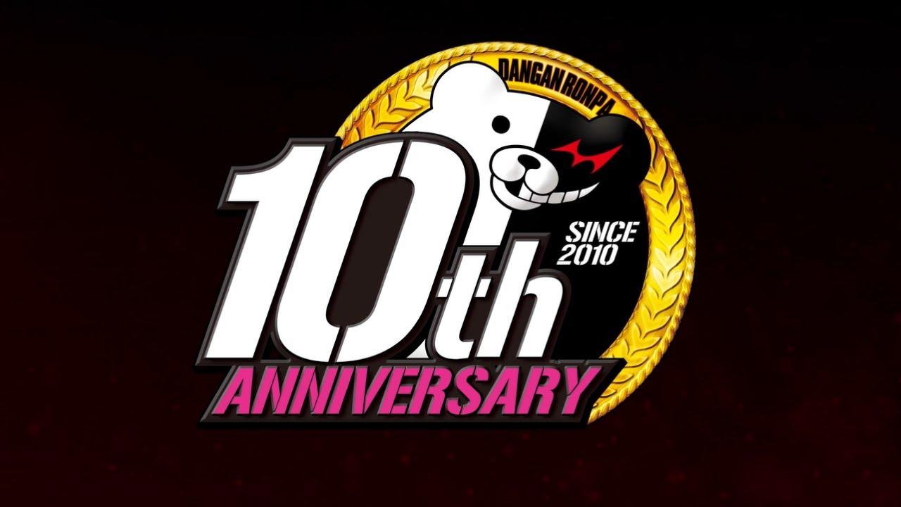 Danganronpa 10th Anniversary Logo