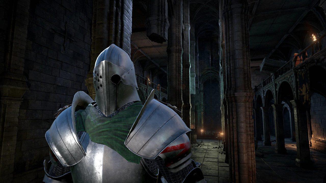 A dark fantasy warrior in Dark Fantasy Warriors.