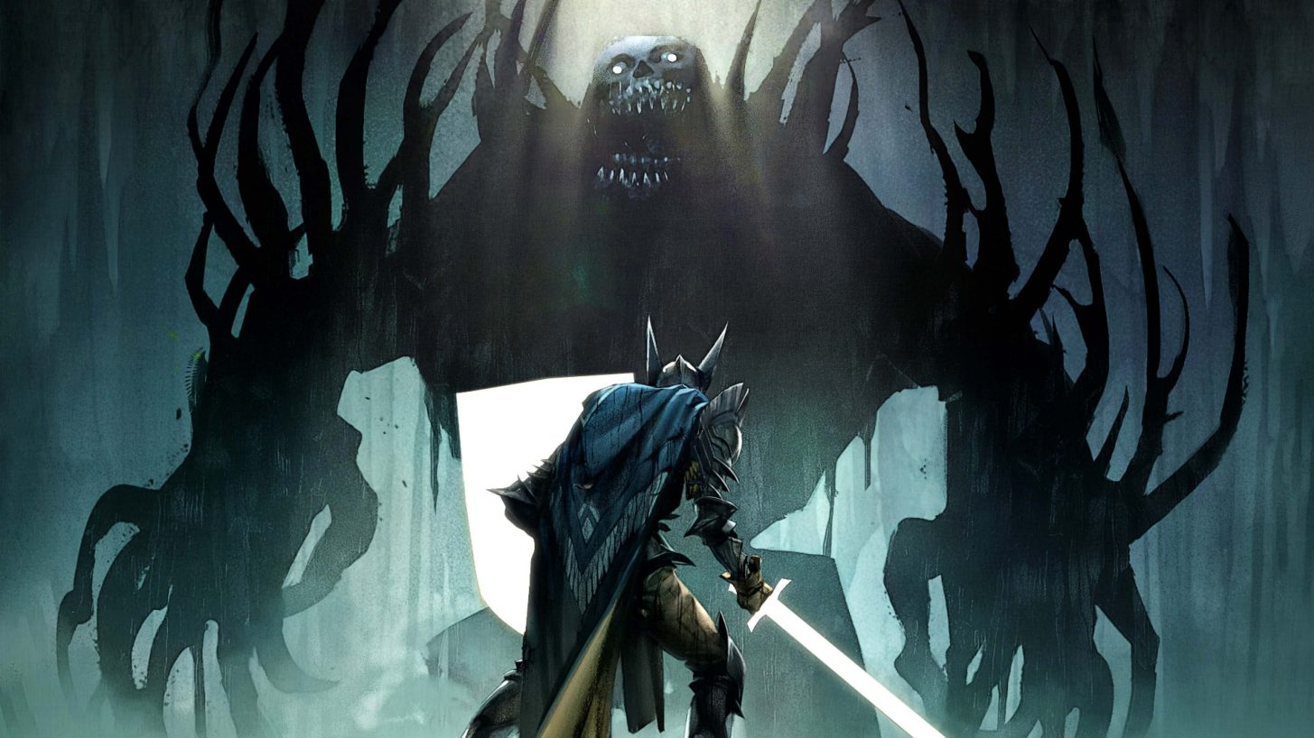 Artwork From Dragon Age Short Story The Next One Featuring A Warrior Facing Off Against A Blighted Monster