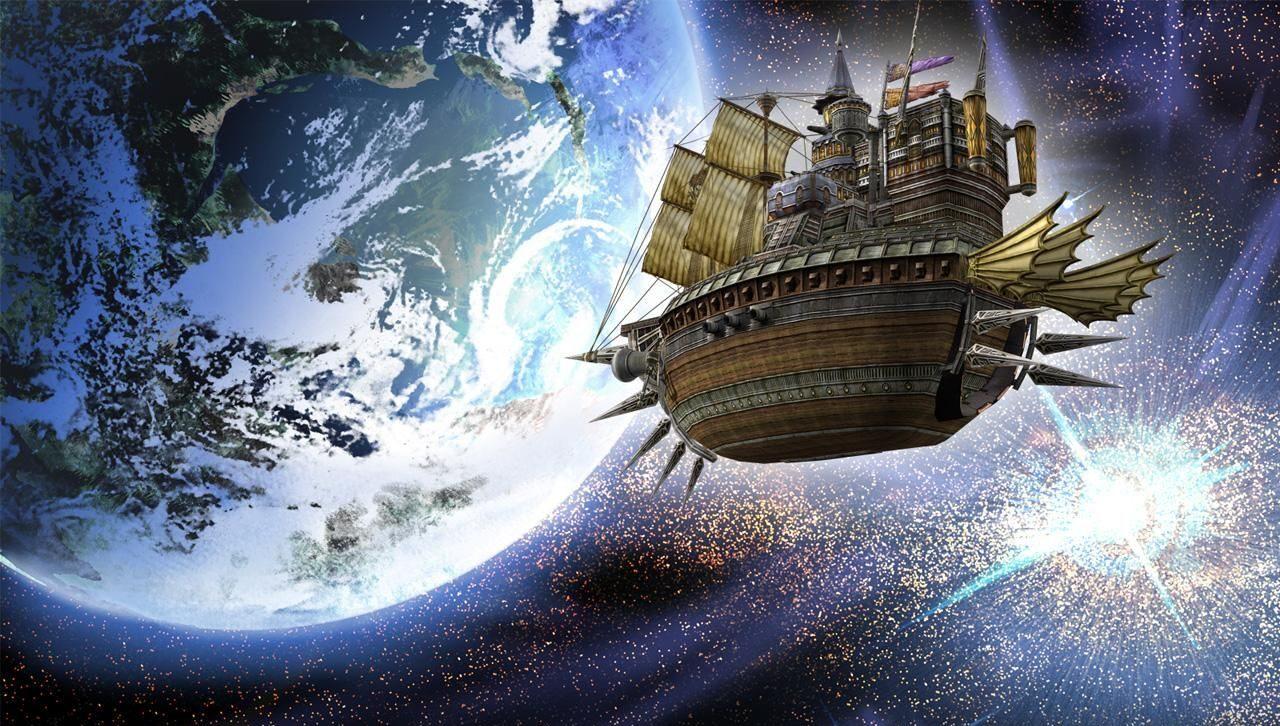 Dorgenark floats through space