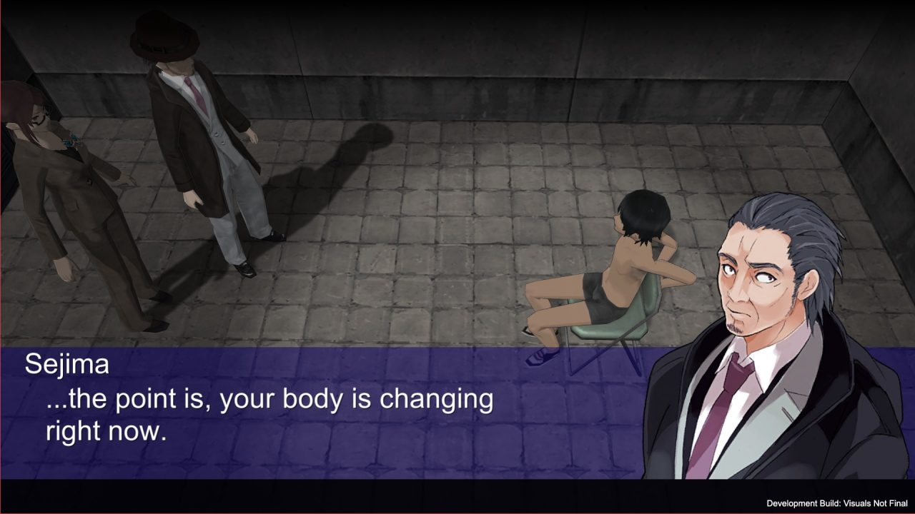 Akiba's Trip: Hellbound & Debriefed A Man Tells A Thin Kid His Body is Changing