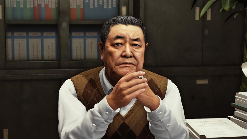 Judgment Screenshot of Older Man Ruminating