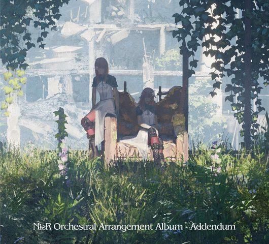 NieR Orchestral Arrangement Album Addendum Cover