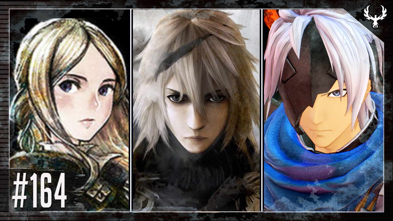 Phoenix Edge 164 image featuring protagonists of Bravely Default II, NieR Replicant, and Tales of Arise