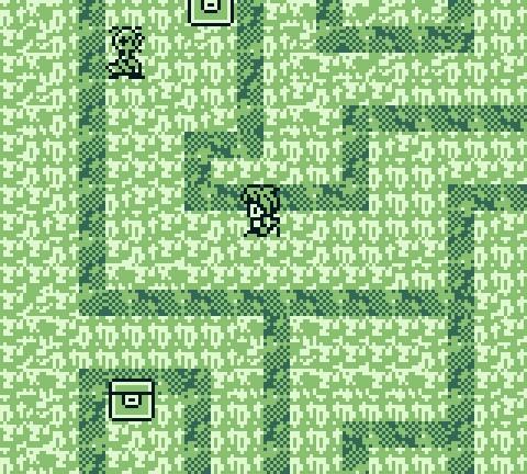Kris explores a dungeon maze in Dragonborne.
