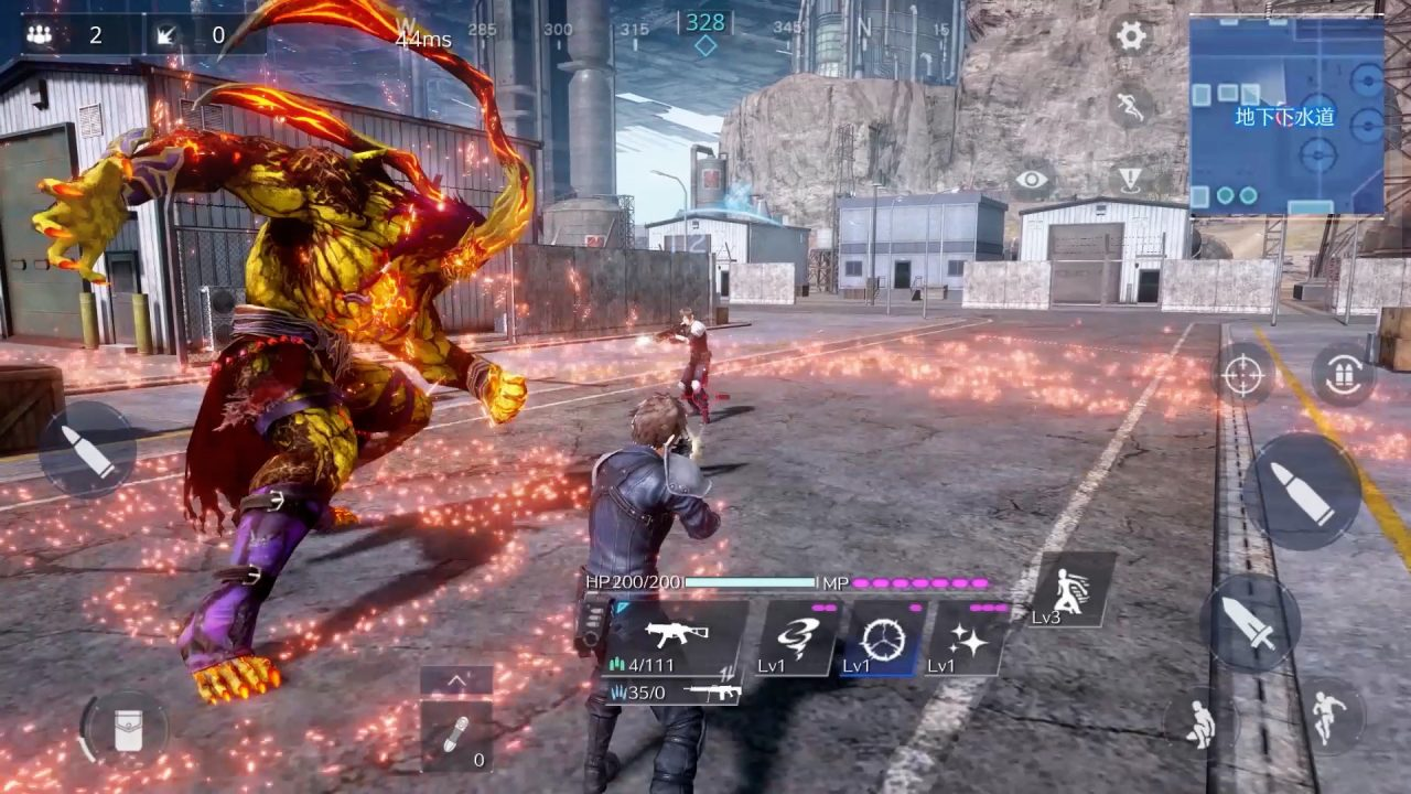 Summon Ifrit in Final Fantasy VII The First SOLDIER