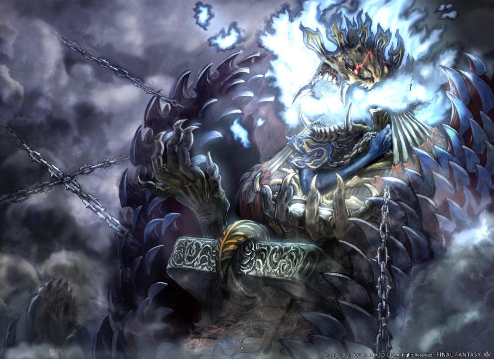 Final Fantasy XIV Endwalker Anima Summon Artwork