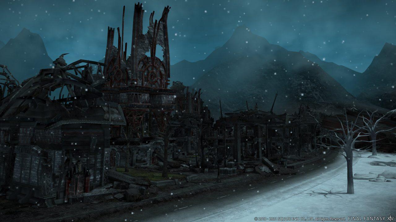 Garlemald in Final Fantasy XIV: Endwalker.