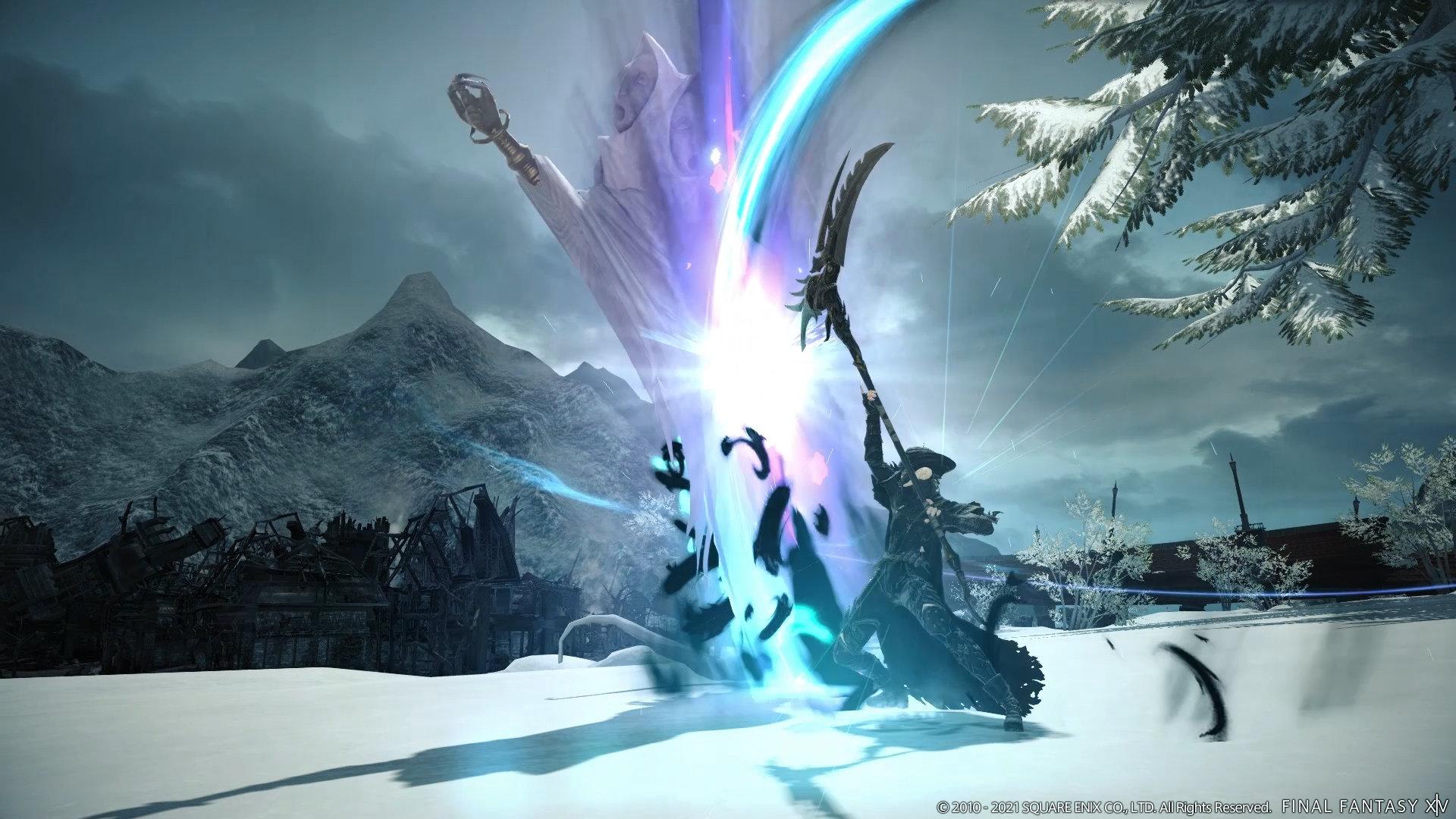 The Reaper Class in Final Fantasy XIV: Endwalker