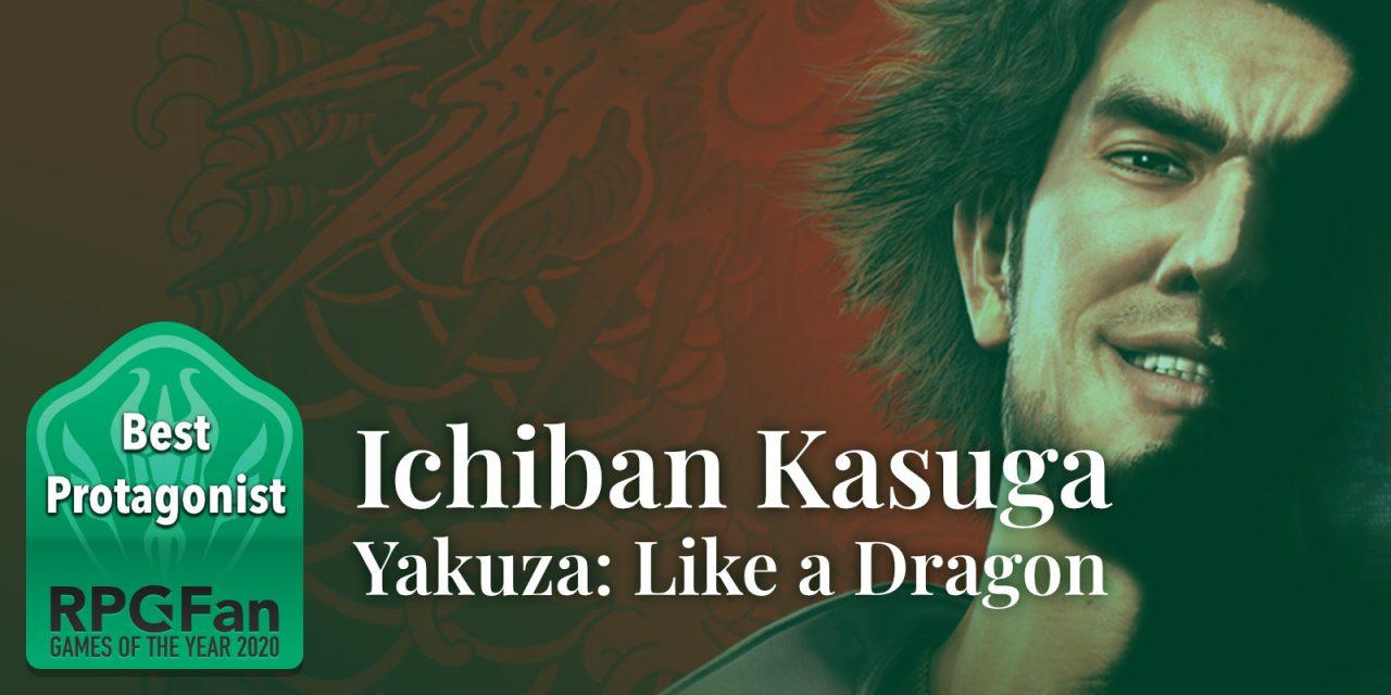 RPGFan Best Protagonist 2020 banner featuring Ichiban smiling.