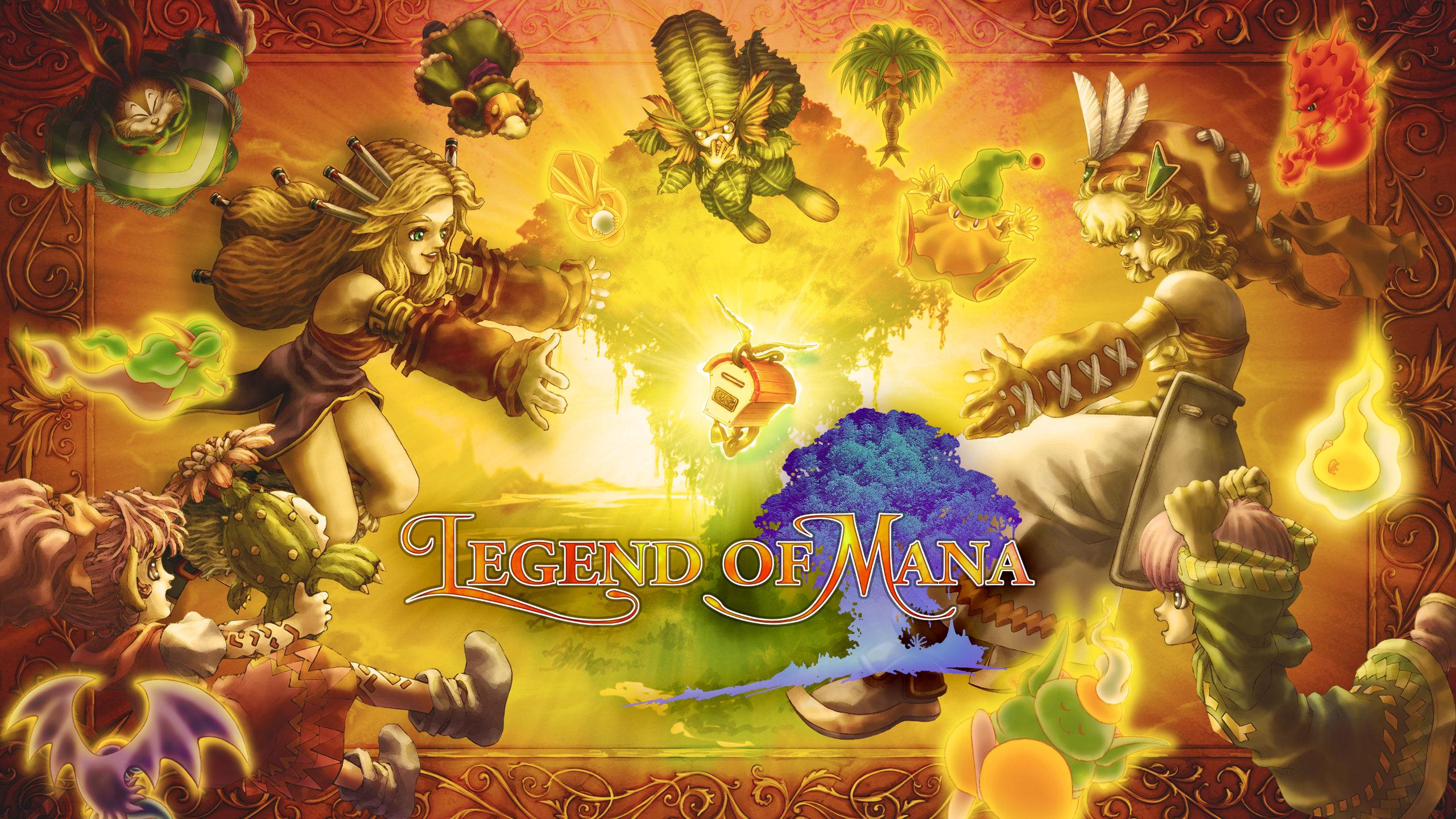Artwork for Legend of Mana Remaster