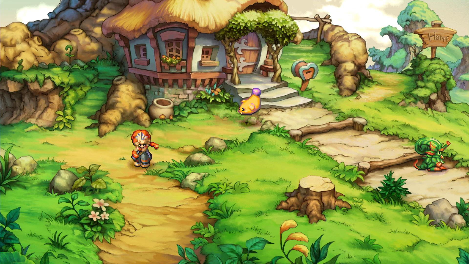 Legend of Mana (Remaster) Screenshot 001