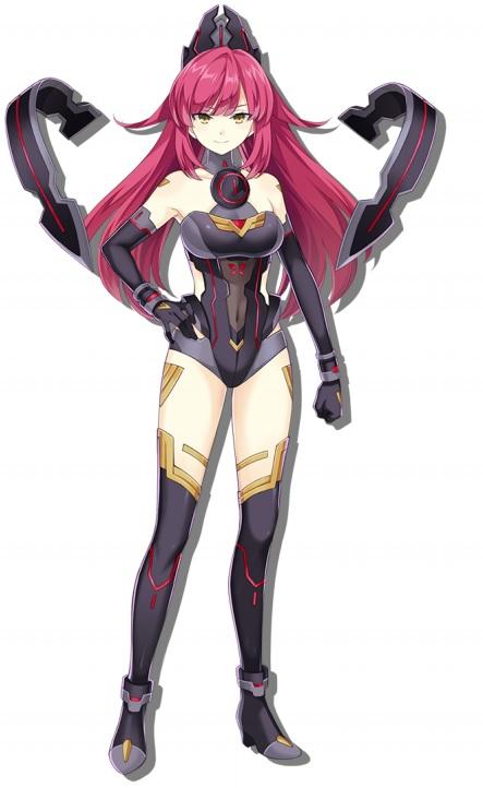 A Picture of Neptunia Virtual Stars character Kado