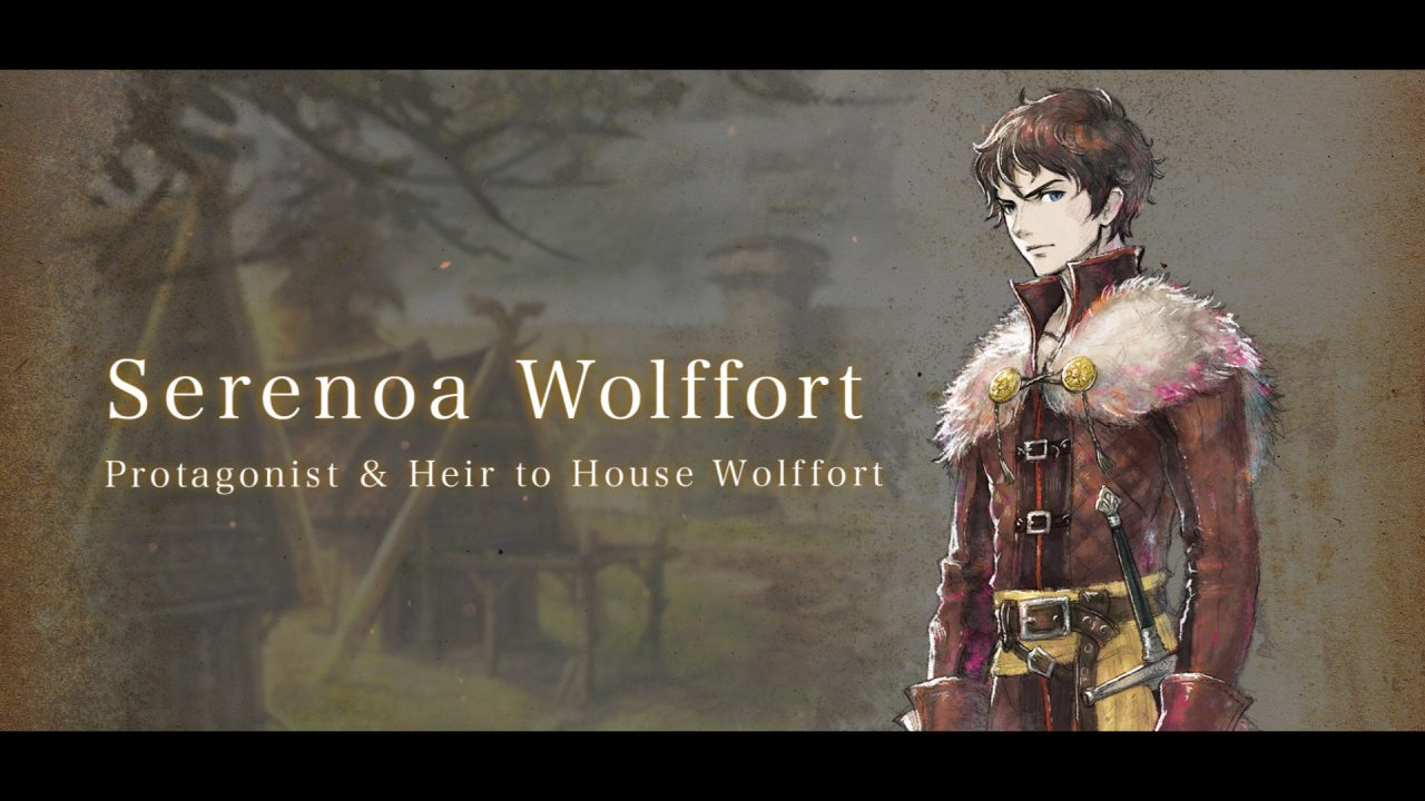 Character introduction to Serenoa Wolffort.