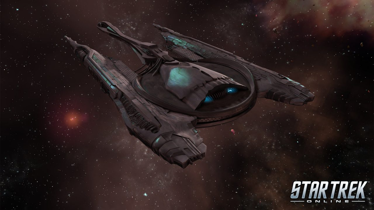 Image Of A Command Dreadnought Cruiser From Star Trek Online
