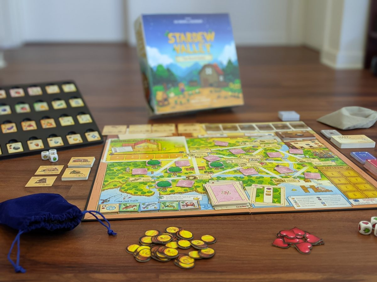 Stardew Valley The Board Game In Action