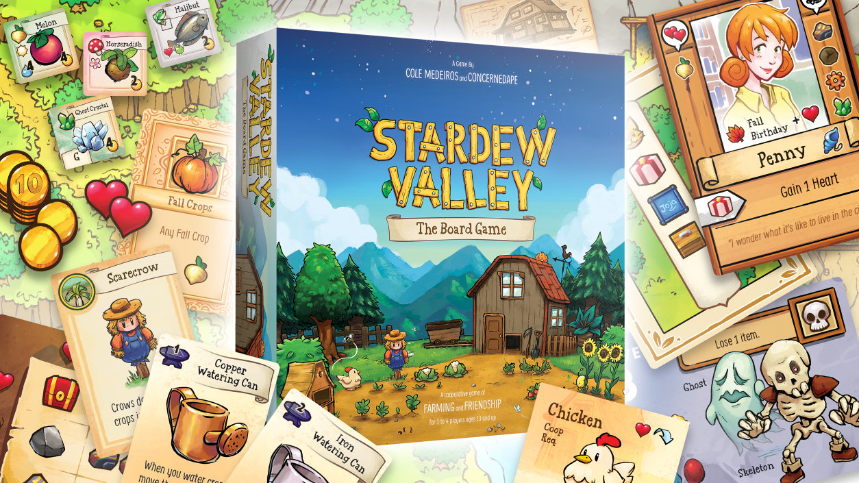 Stardew Valley The Board Game Promo