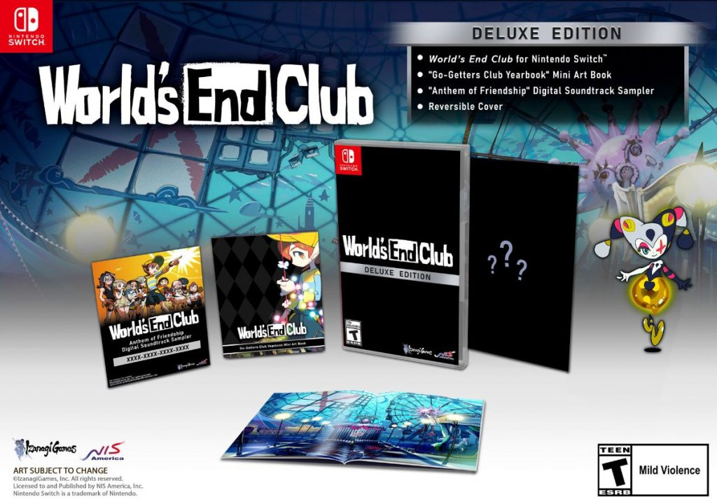 World's End Club Cover Art 001 (Deluxe Edition)