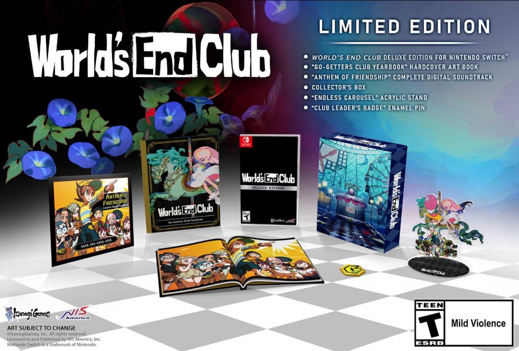 World's End Club Cover Art 002 (Limited Edition)