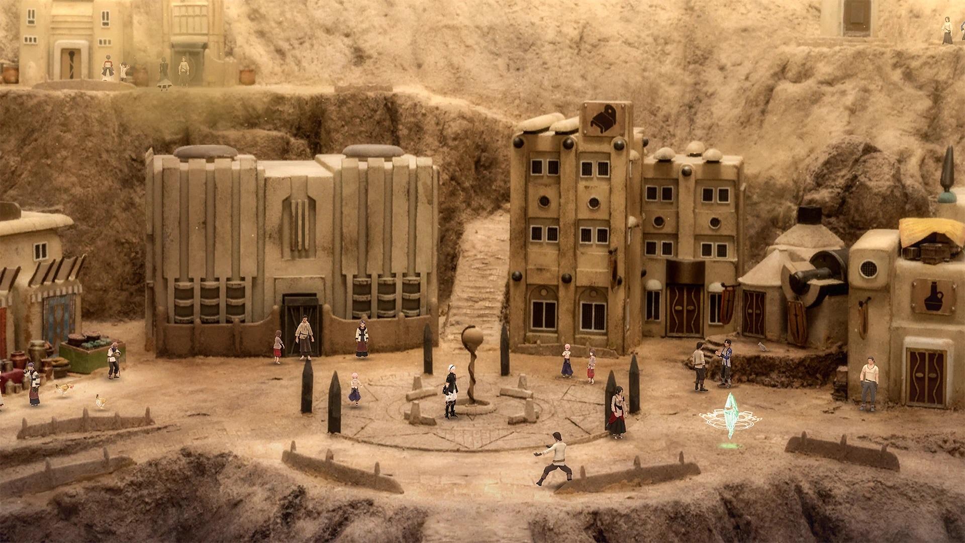 A Desert City in Fantasian