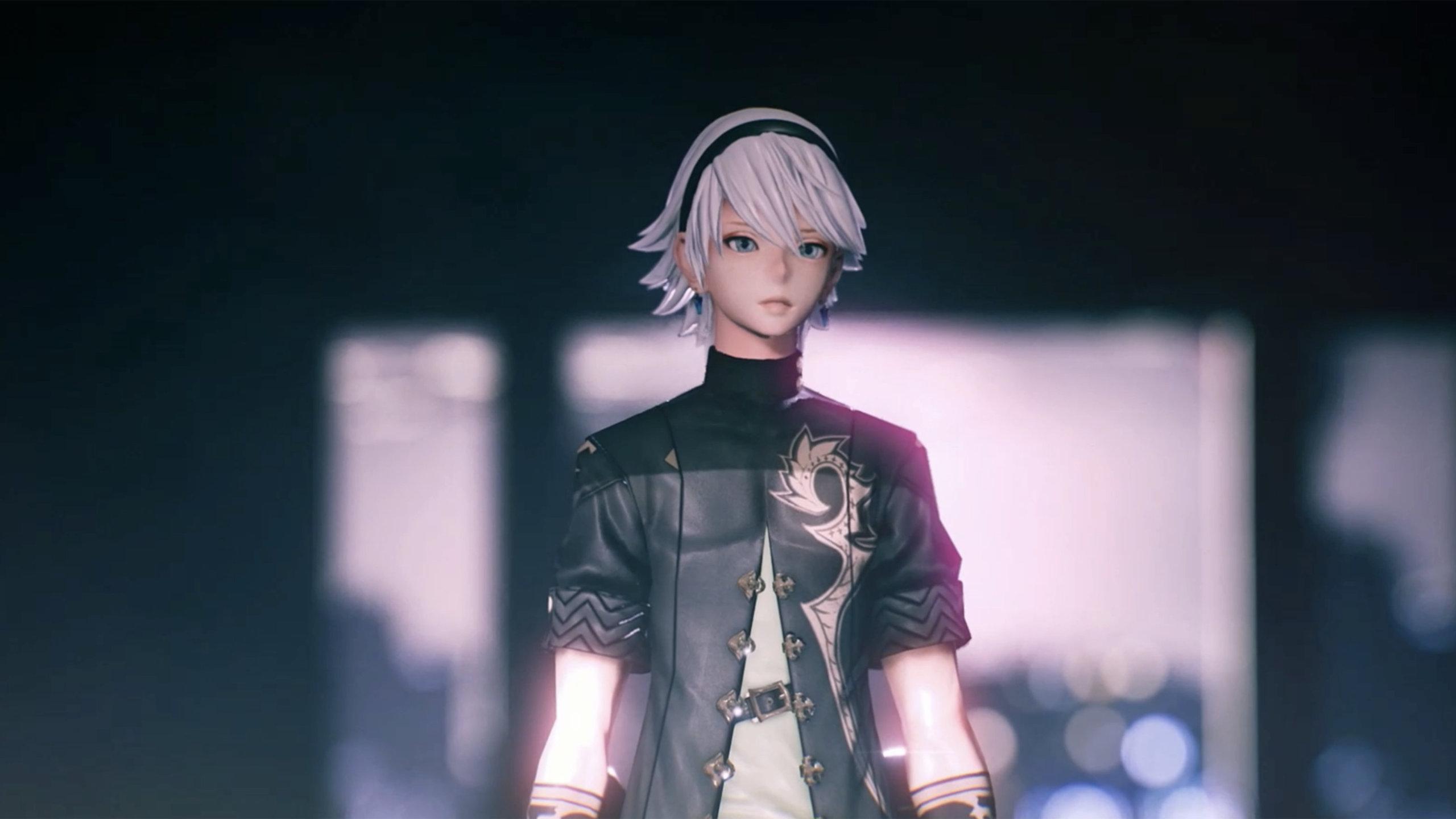 Fantasian Screenshot of the main protagonist, Leo