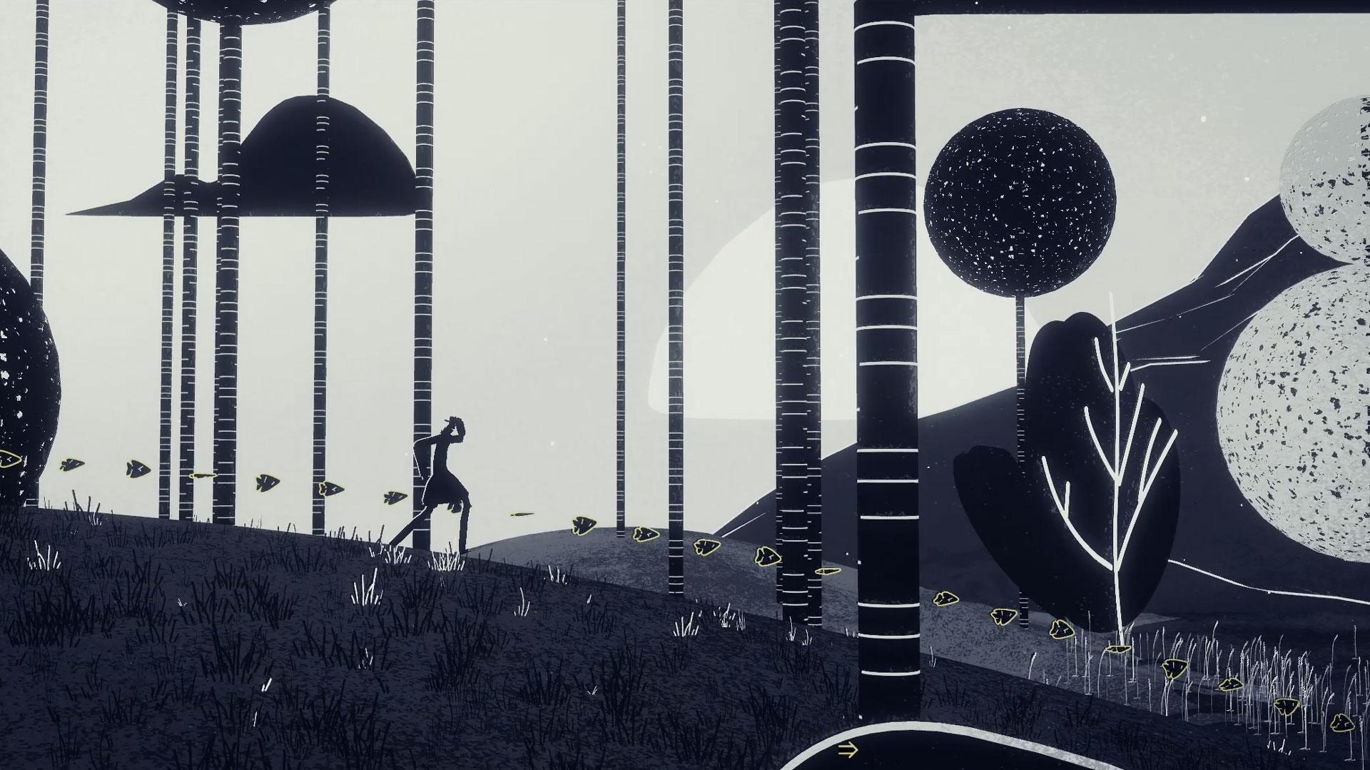 Genesis Noir No Man Walking through a forest
