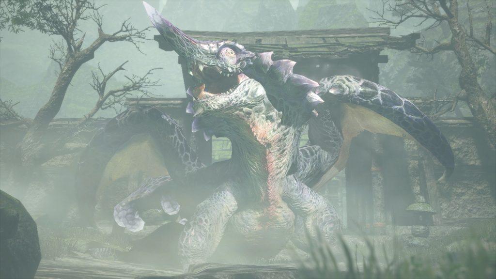 Screenshot Of Chameleos From Monster Hunter Rise April Update