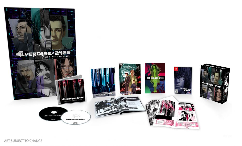 Image Of The Silver Case 2425's Limited Edition