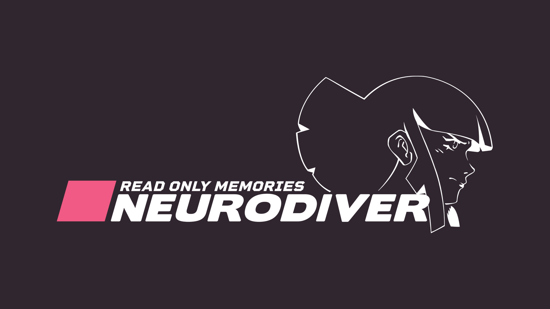 Read Only Memories: NEURODIVER logo with main character illustration.