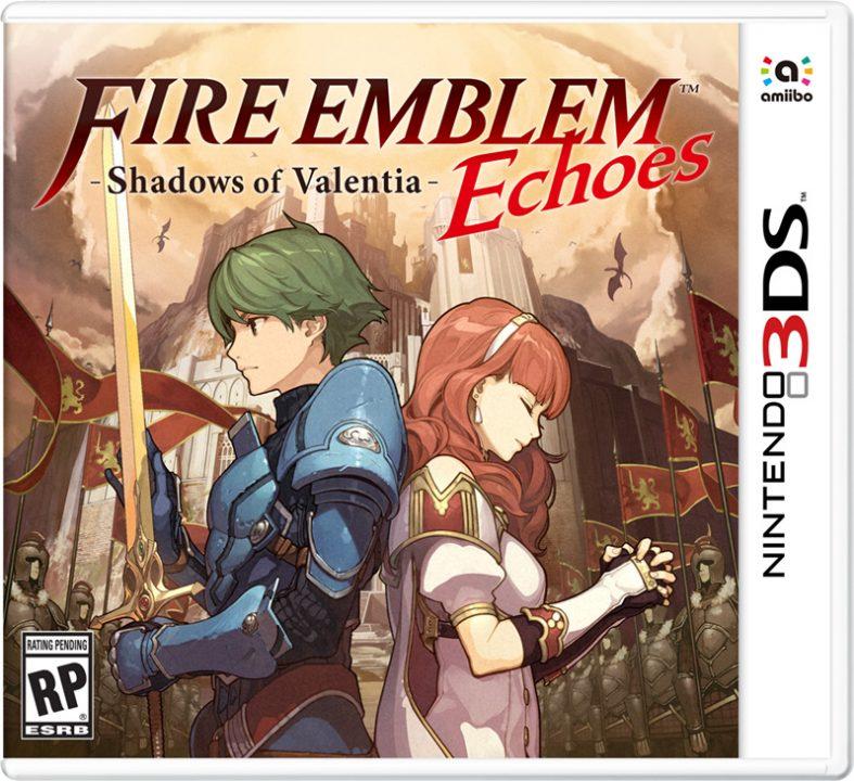 Fire Emblem Echoes: Shadows of Valentia Cover Art 001