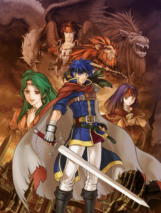 A shot of the main cast from Path of Radiance