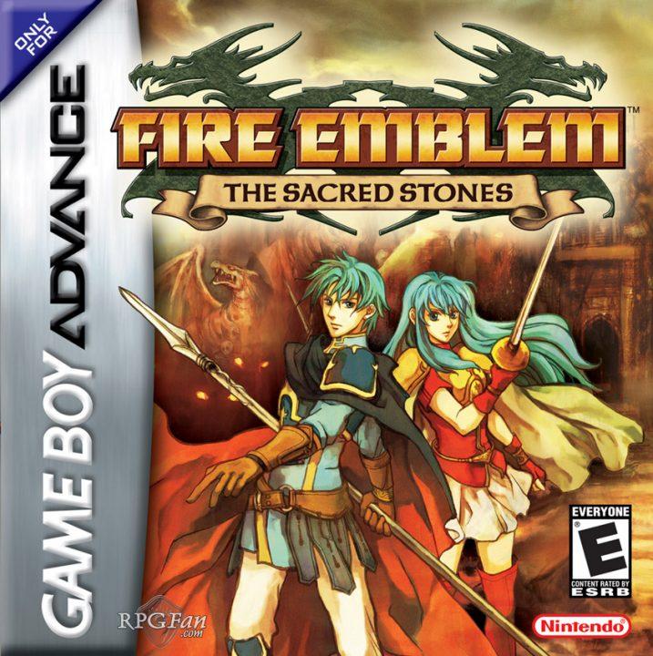 Fire Emblem The Sacred Stones Cover Art (US)