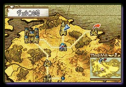 An overworld map showing multiple locations on where to go next in a Fire Emblem game.