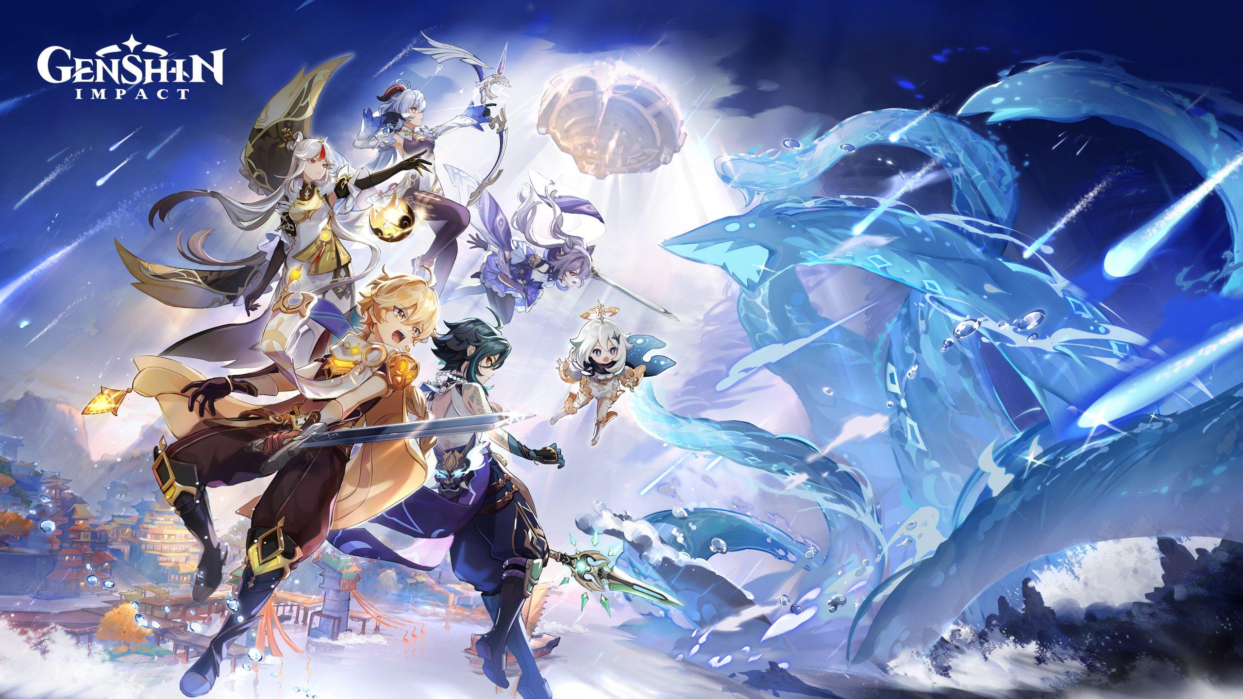 Genshin Impact coming to PlayStation 5