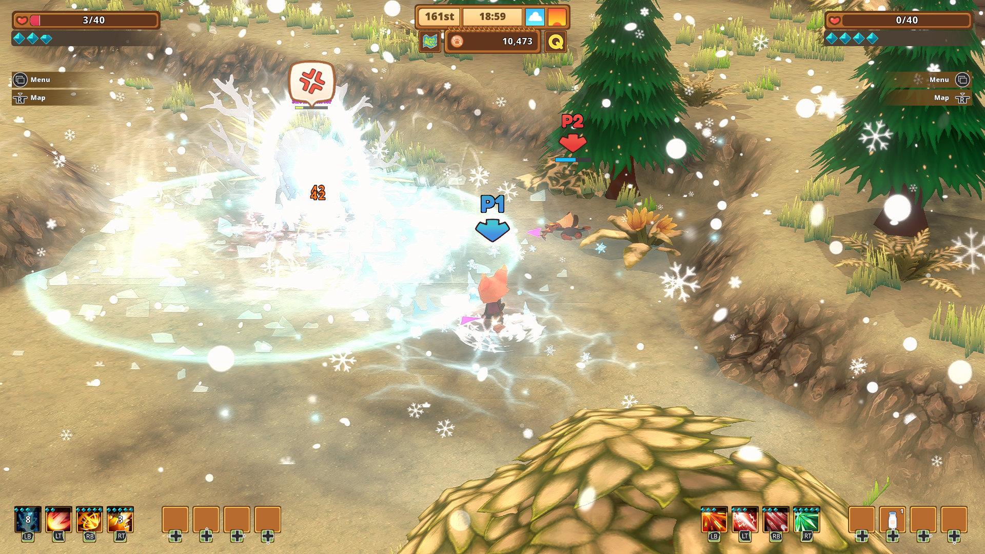 Kitaria Fables screenshot of combat
