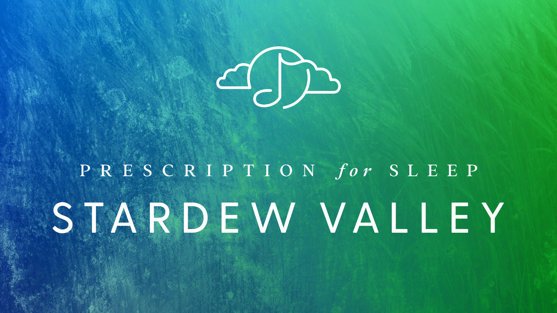 The dreamy album artwork featured on the upcoming Prescription for Sleep: Stardew Valley jazz album.