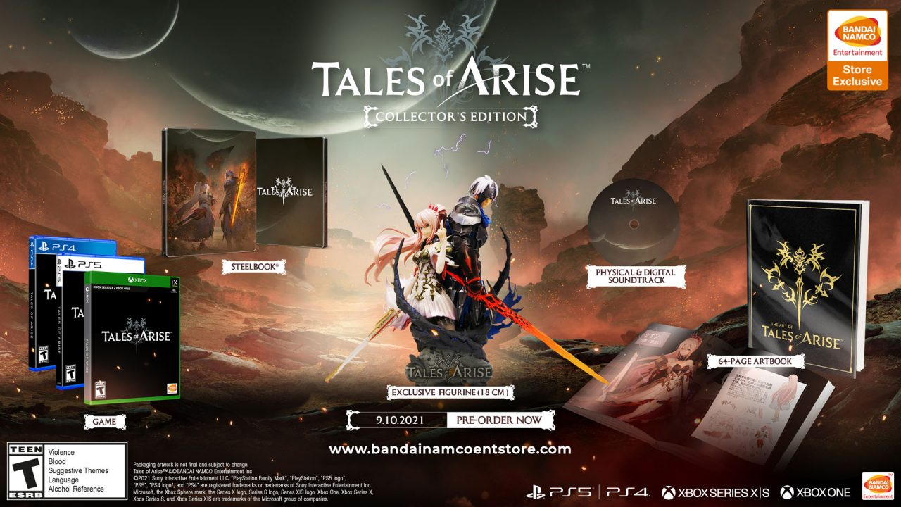 Tales of Arise Cover Art (US, Collector's Edition)