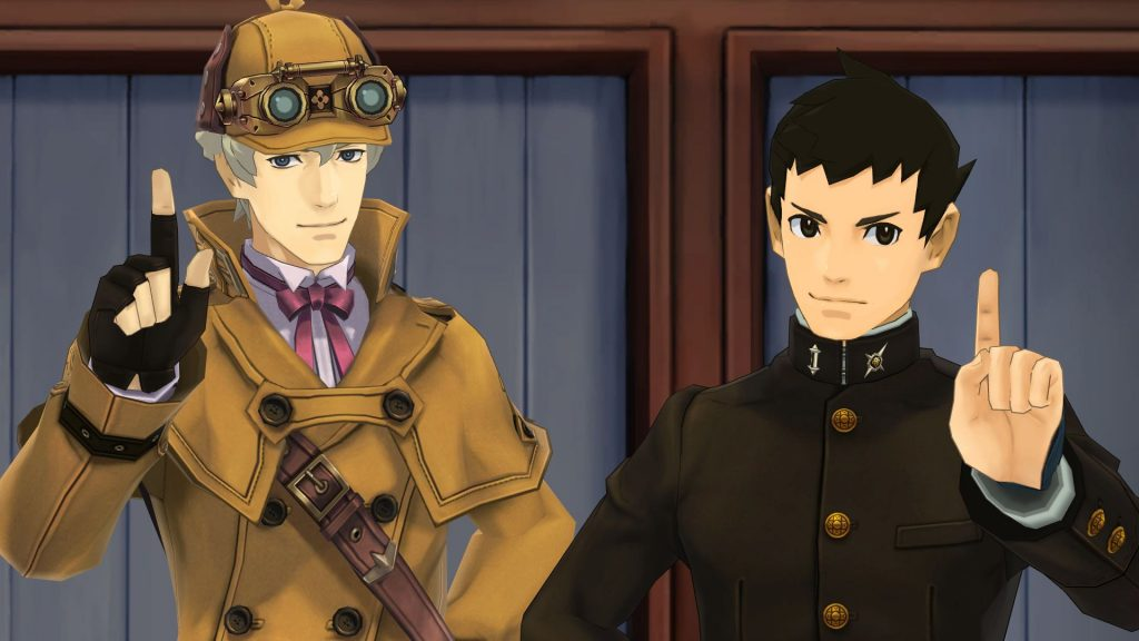 The heroes of The Great Ace Attorney Chronicles.