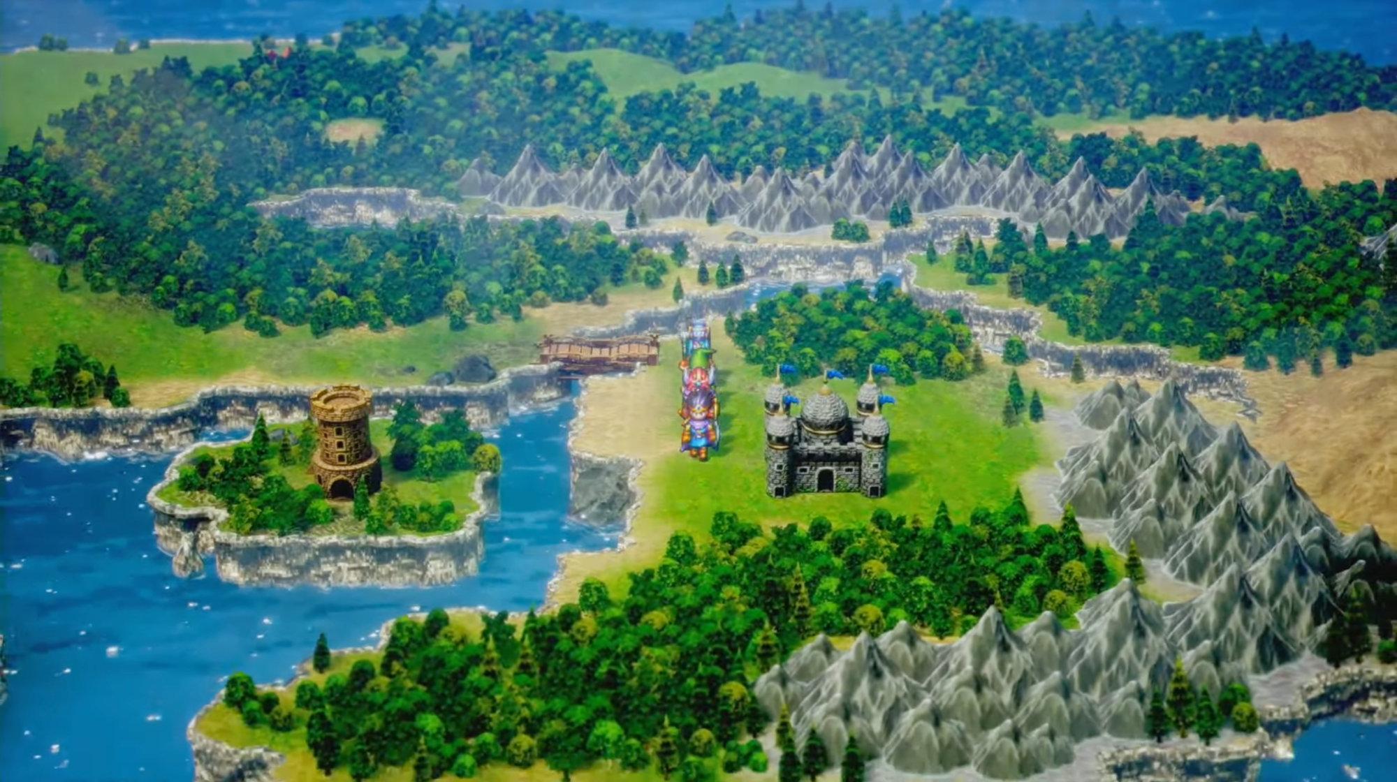 Screenshot From Dragon Quest III HD-2D Remake