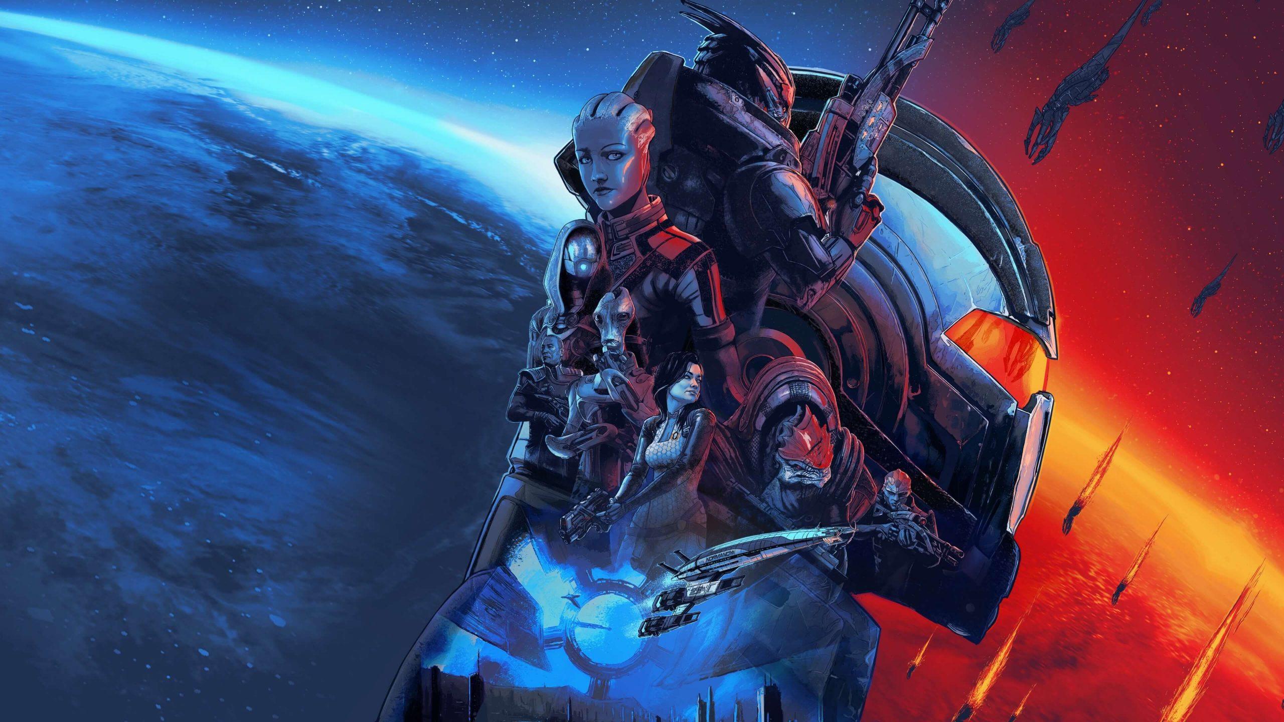 Key Art For Mass Effect: Legendary Edition
