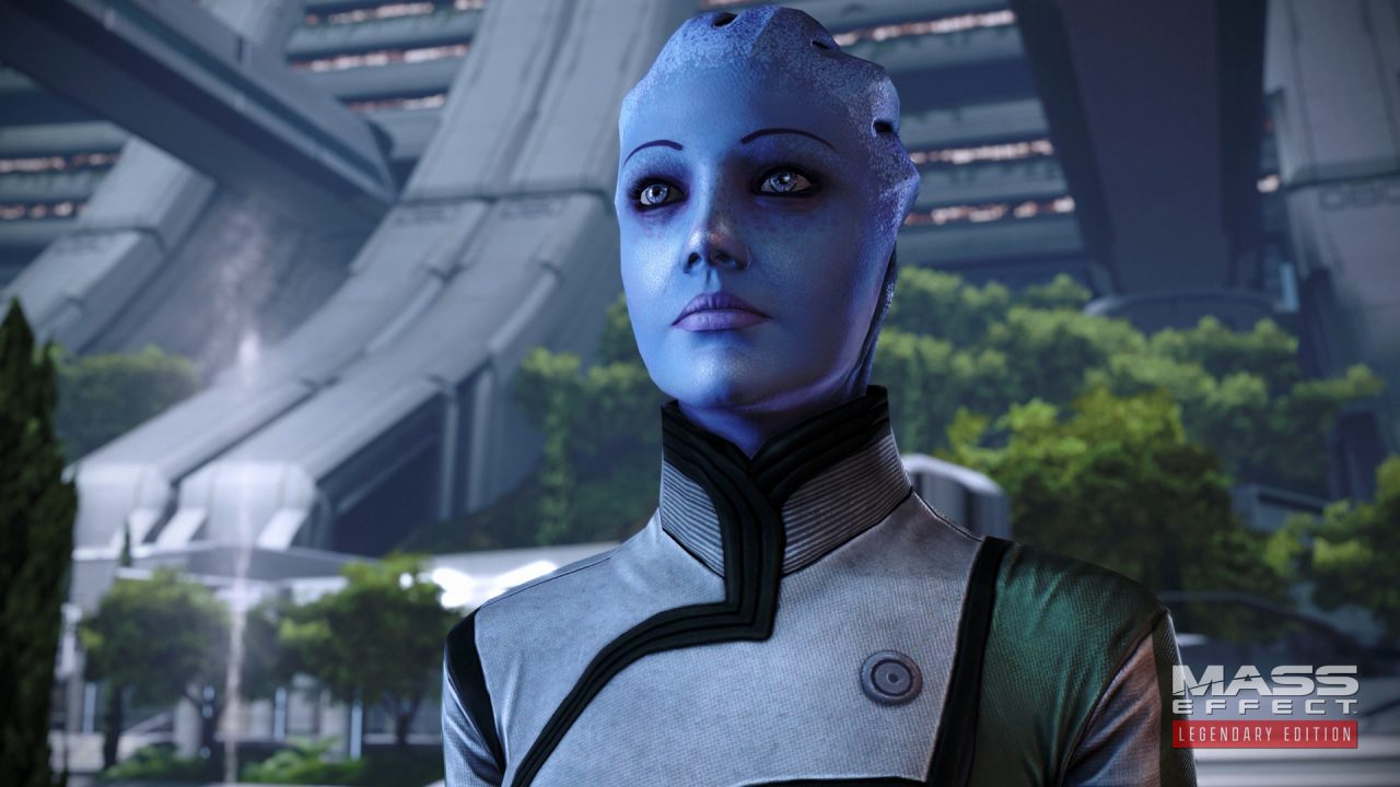 Liara T'Soni in Mass Effect.