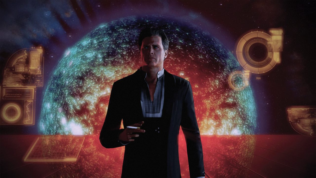 The Illusive Man is ever the enigma in Mass Effect: Legendary Edition.