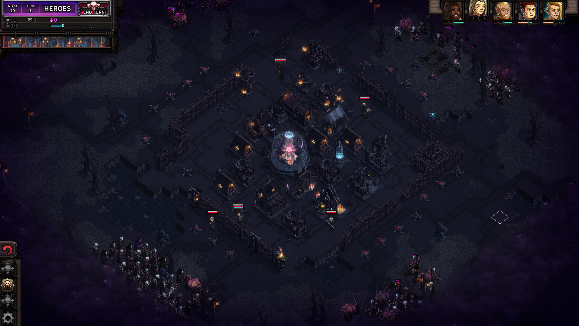 Armies will soon collide in a dark world in The Last Spell.