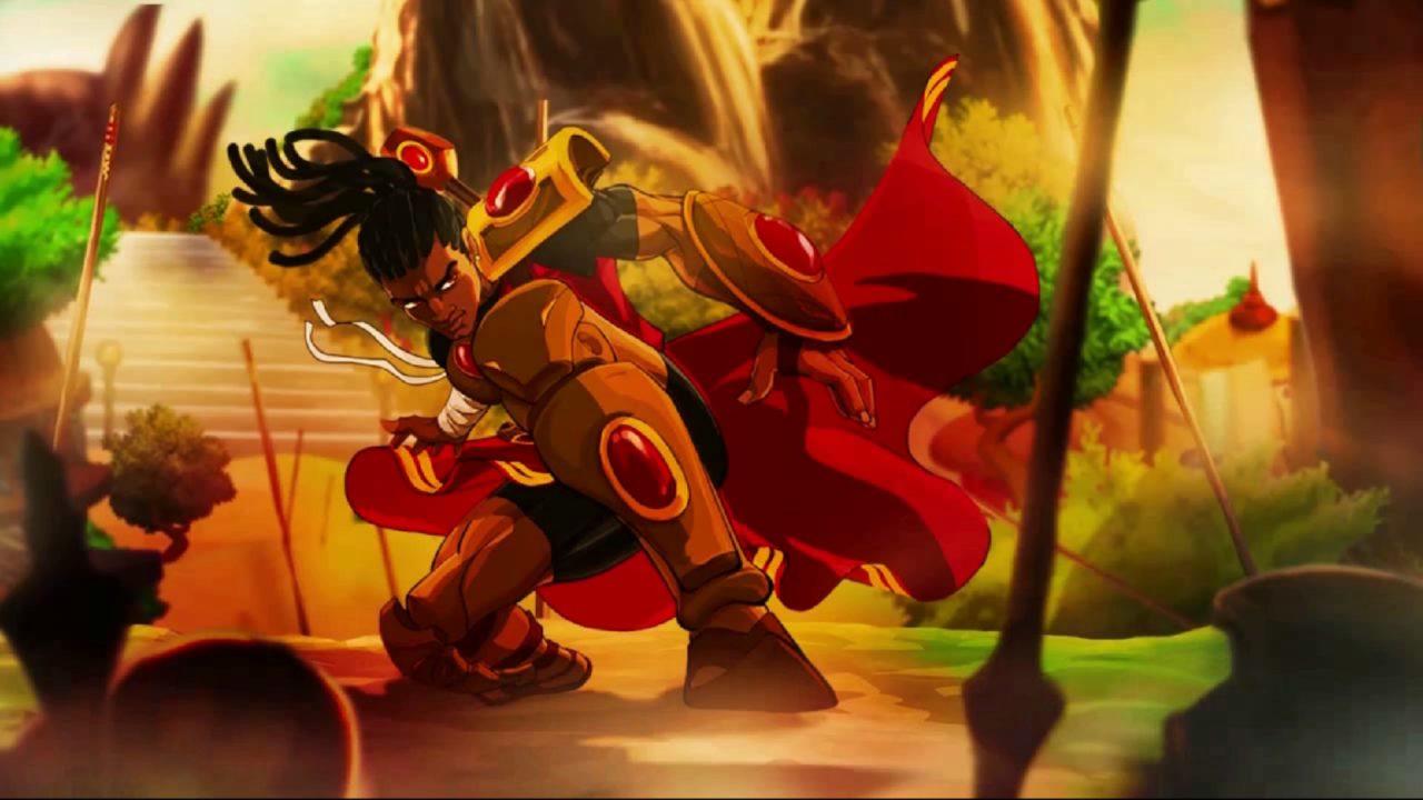 A cutscene screenshot from Aurion: Legacy of the Kori-Odan.